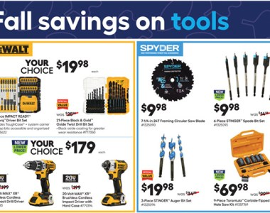 Lowes Labor Day Tool Deals Page 1