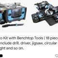 Power8 Cordless Power Tool Workshop Scam Ad