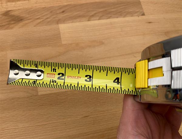 Stabley Powerlock Tape Measure 25-Foot Blade Markings