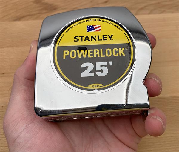 Stabley Powerlock Tape Measure 25-Foot