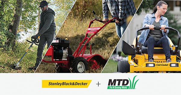 Stanley Black Decker MTD Acquisition