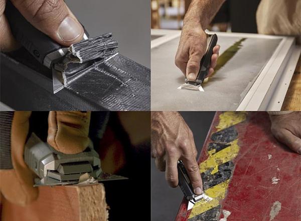 ToughBuilt Scraper Knife Applications