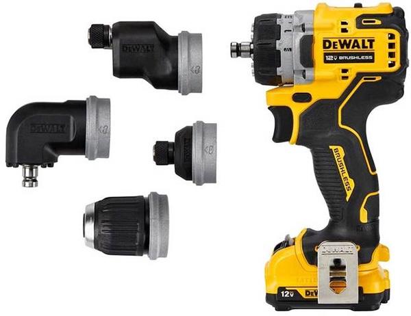 Dewalt DCD703F1 Xtreme 5-in-1 Cordless Drill Driver Attachments