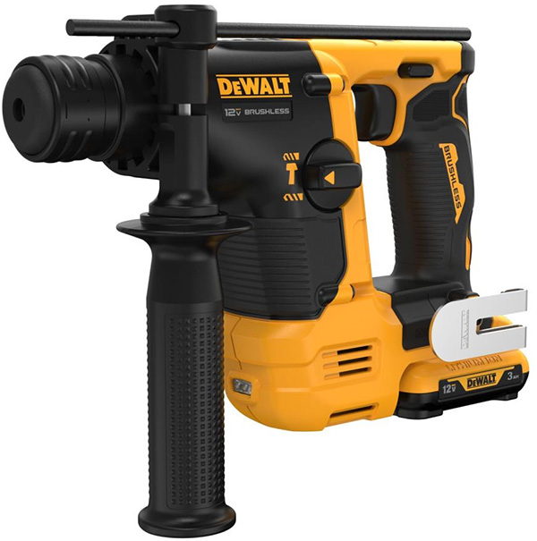 Dewalt DCH072 Xtreme 12V Cordless Rotary Hammer with Battery