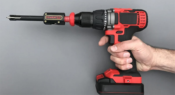 Fenrir Screw Holding Attachment with Cordless Drill