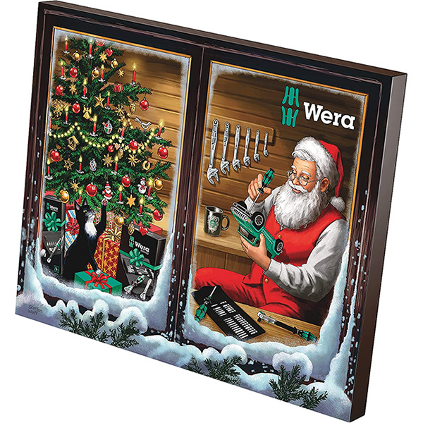 Wera 2021 Advent Tool Calendar
