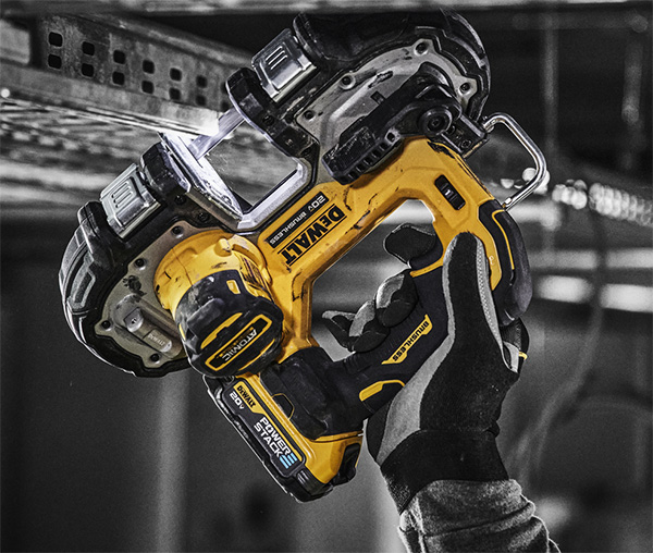 Dewalt PowerStack Battery with Brushless Band Saw