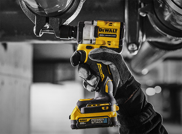Dewalt PowerStack Battery with Brushless Impact Driver