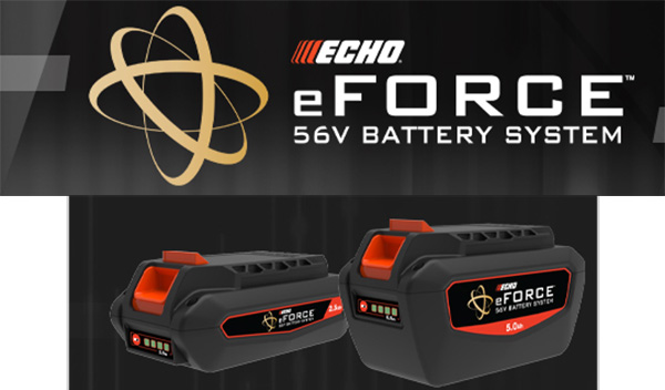 Echo eForce 56V Cordless Outdoor Power Tool System