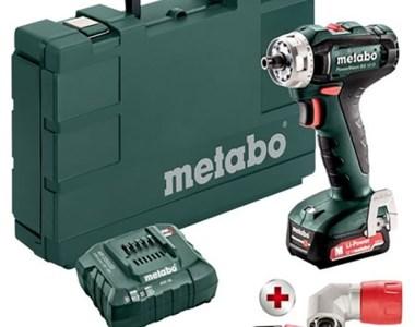 Metabo 12V Multi-Head Cordless Drill Driver