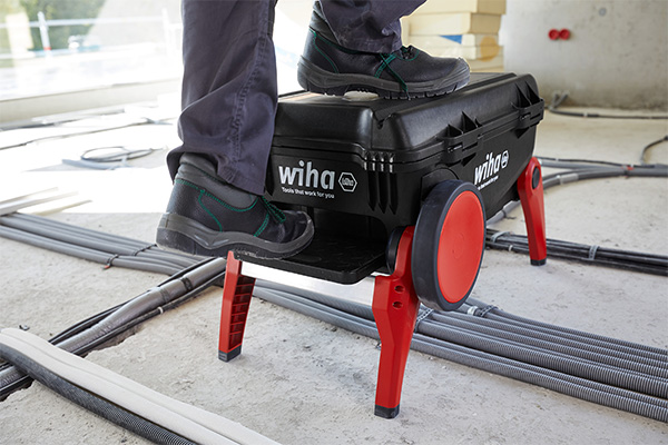 Wiha XXL3 PRO Tool Box Open with Extended Legs