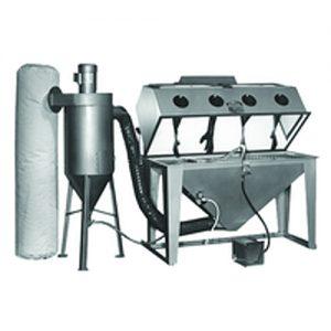 cyclone industrial sandblaster trinco tool krib equipment for sale