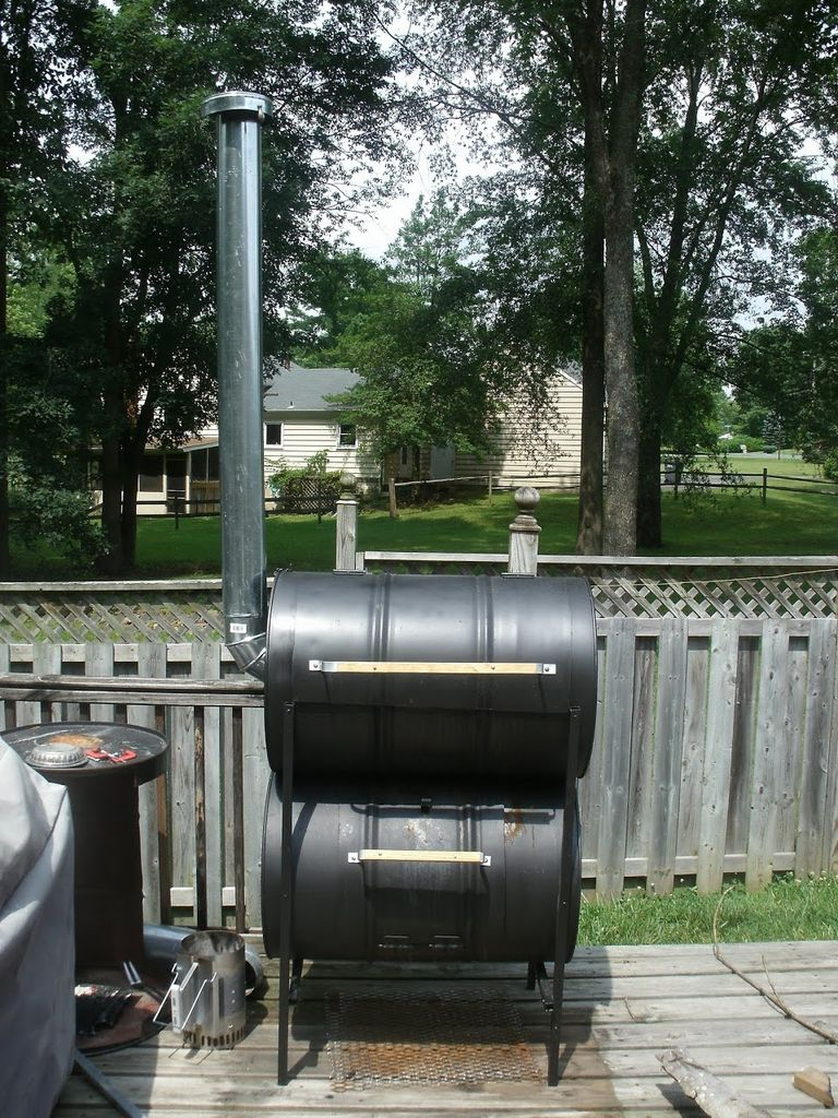 How To Build Your Own Barrel Smoker Step By Step