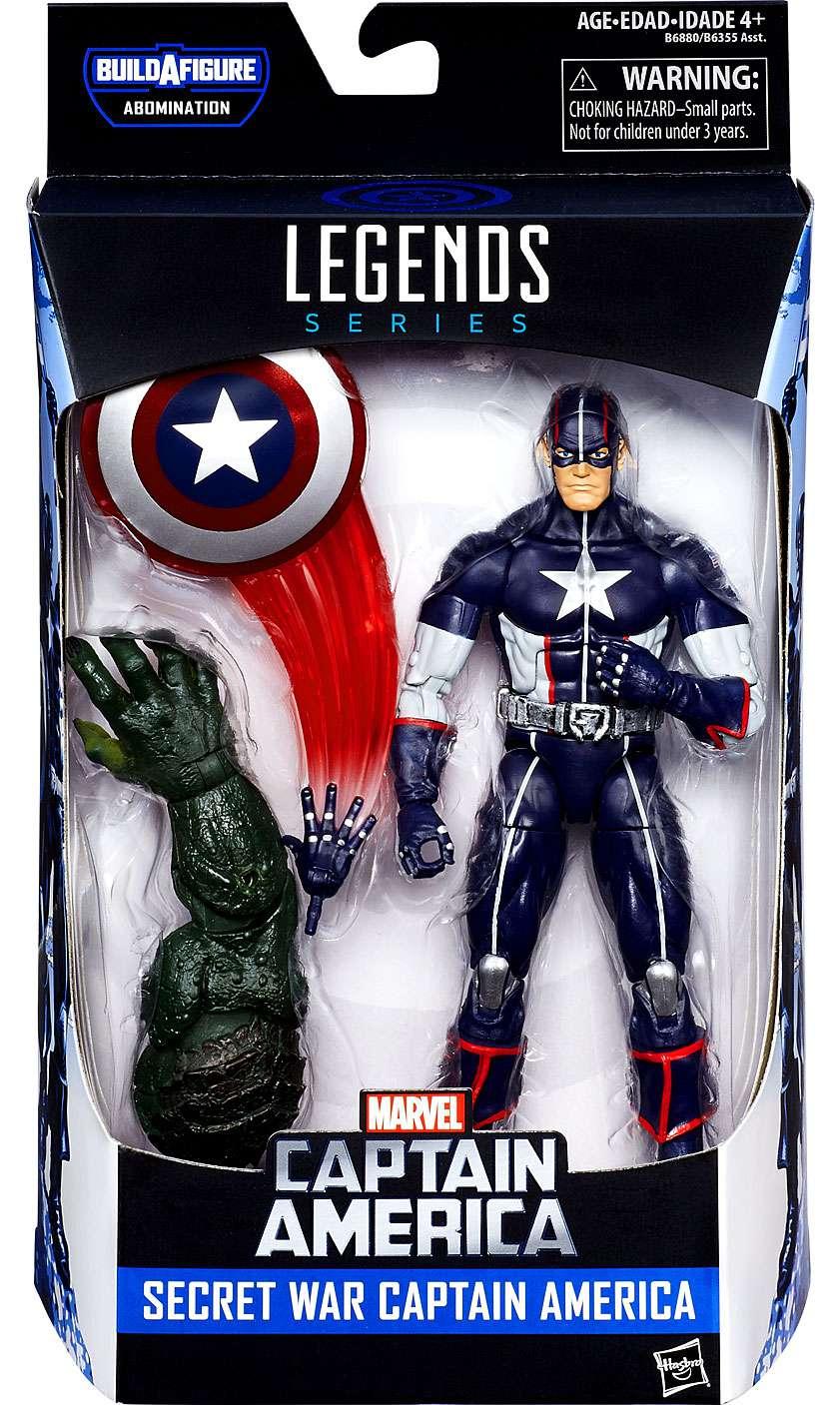 details about marvel legends abomination series secret war captain america  action figure
