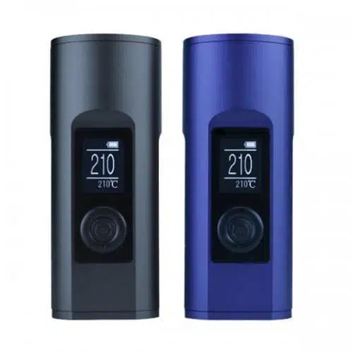 Arizer Solo 2 Vaporizers in Mystic Grey and Carbon Black