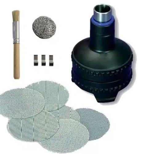 Volcano Easy Valve Starter Kit Herb Filling Chamber & Regular Screens
