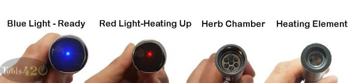 Atmos Boss Vape Pen Convection Heating Chamber