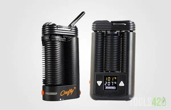 Crafty Plus and Mighty Herb Vaporizers