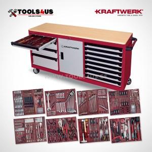3936 4920F surtido herramientas kraftwerk con carro banco de trabajo 01 - El mejor carro de herramientas para taller te espera