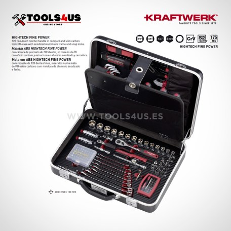 4015 Kraftwerk Maleta ABS HIGHTECH FINE POWER 175 piezas _01