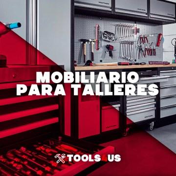 Mobiliario de taller completos con herramientas