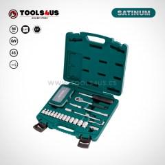 101 SATINUM maletin carraca llaves vasos puntas allen herramientas barcelona 01