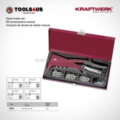 2224 KRAFTWERK herramientas taller barcelona espana Kit remachadora manual 01