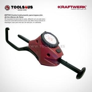 30005 KRAFTWERK herramientas taller barcelona Control instrumento para inspección de los discos de freno KETOS 01