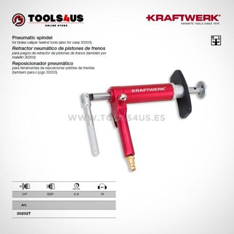 30202T KRAFTWERK herramientas taller barcelona Retractor neumatico pistones de frenos _01