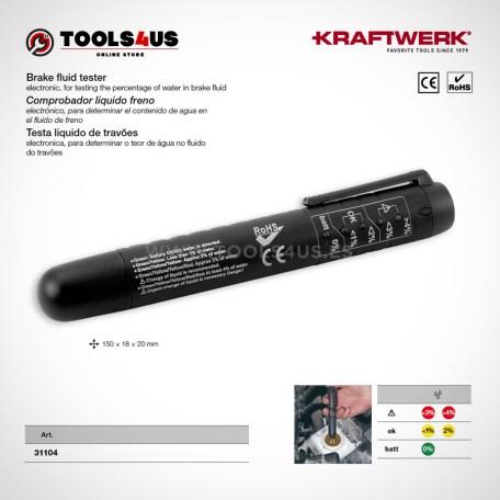 31104 KRAFTWERK herramientas taller barcelona espana Comprobador liquido freno 01