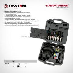 31119 KRAFTWERK herramientas taller barcelona espana Estetoscopio electronico diagnosis automocion 01
