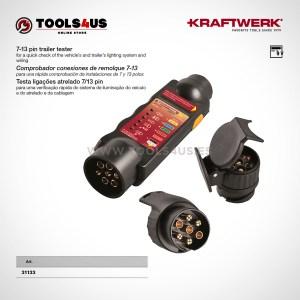 31133 KRAFTWERK herramientas taller barcelona espana Comprobador conexiones remolque7 13 01