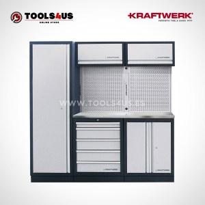 3964AIX Kraftwerk Mueble Modular Taller 3 Elementos INOX 01 - El mejor mueble de taller o garage te espera