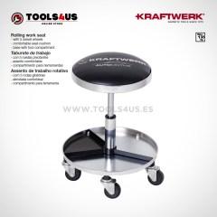 3984 KRAFTWERK herramientas taller barcelona españa Taburete trabajo ruedas pivotantes 01