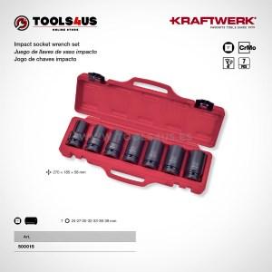 500015 KRAFTWERK herramientas taller barcelona Juego llaves vaso impacto 1pulgada largos