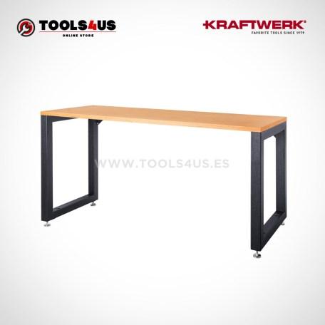 7526-7527 Kraftwerk Profesional Mesa Banco de trabajo madera hierro _ 01