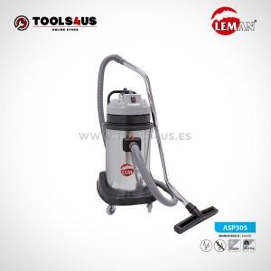 Aspirador Industrial INOX 30L 1200W Leman ASP305