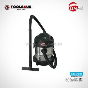 Aspirador de Polvo y Agua 20L1250W Leman LOASP201