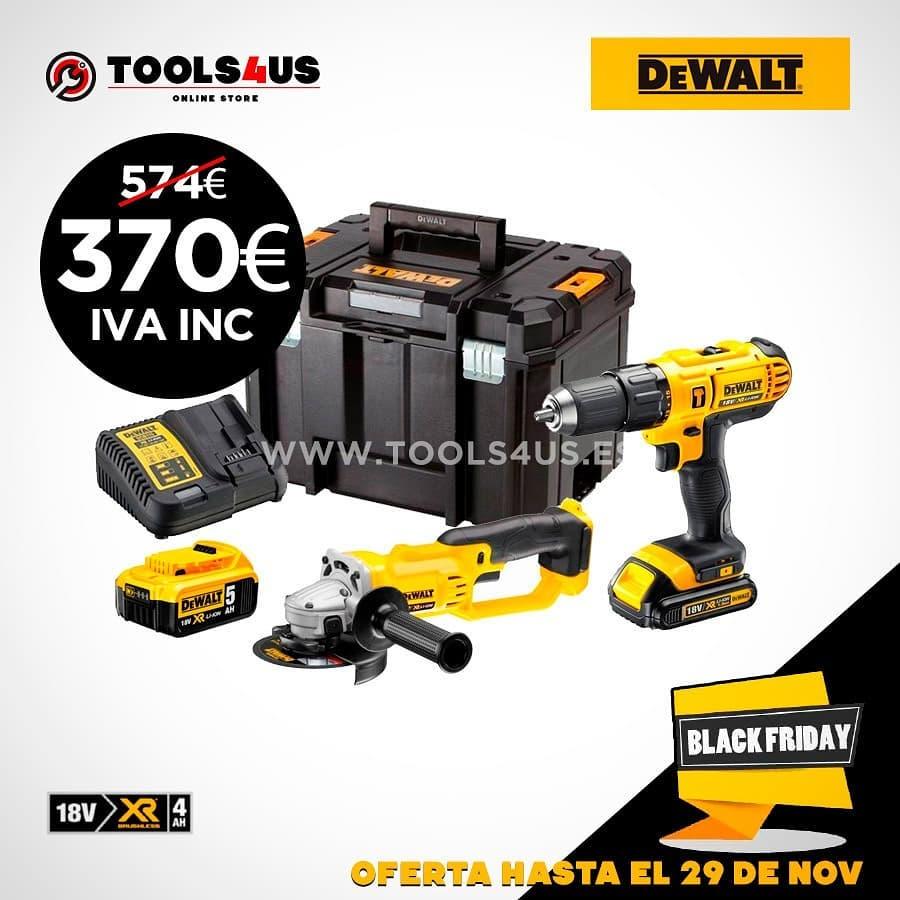 ahorrate mc3a1s de 200e282ac con - Ahorrate más de 200€ con este kit de radial y taladro de batería de 18V? #DeWalt #blackfriday #herramientasprofesionales ya disponible en nuestra tienda online