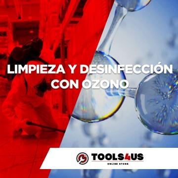 Limpieza y Desinfección con Ozono
