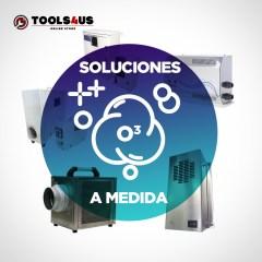 Producto soluciones ozono a medida profesionales particulares limpieza desinfeccion instalacion