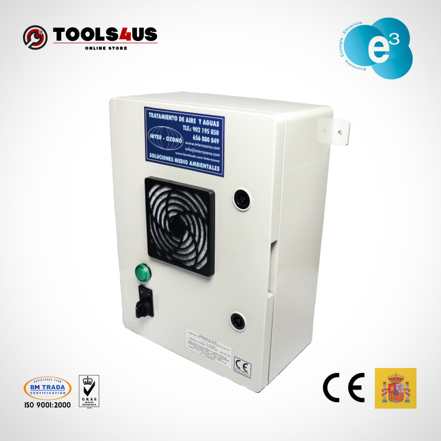 equipo generador ozono fijo oficinas naves desinfectante ambientes aire hoteles locales vehiculos ozogram 1000mg 01 - Generador de Ozono Ozogram 1000mg