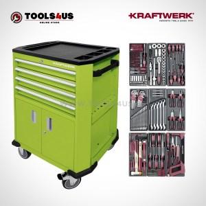 Carro de taller equipado con herramientas profesional automocion industria bicicleteria ebike b206 102212511 01