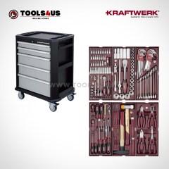 Carro de taller equipado con herramientas profesional automocion industria bicicleteria ebike b207 102230505 01