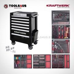 Carro de taller equipado con herramientas profesional automocion industria bicicleteria ebike b407 102400526 01