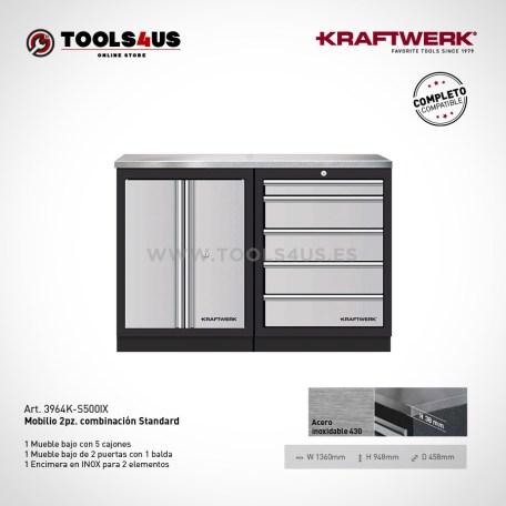 3964k s500ix mueble taller garage negocio banco de trabajo kraftwerk herramientas españa barcelona inox 01