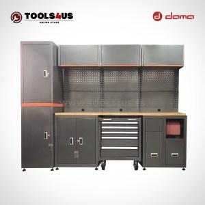 Da1210kitl mueble taller mobiliario taller garage industria profesional herramientas armarios banco de trabajo dama nrstools nrs 01