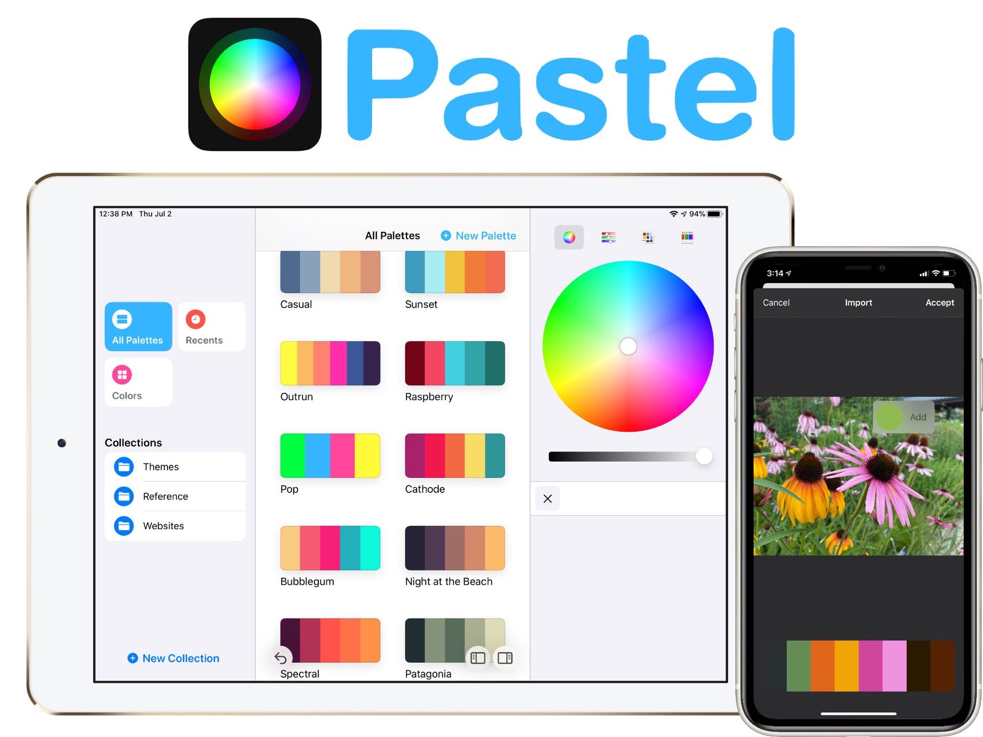Pastel Color Palette App For Iphone Ipad Tools And Toys