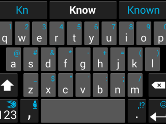 Remove learned words from any keyboard on Android