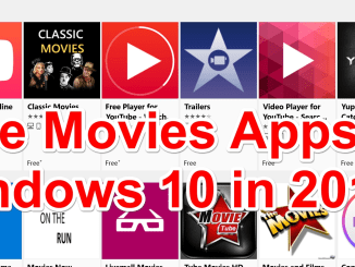 Free Movies Apps for Windows 10 2018